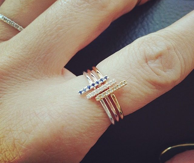 New stick stacking rings for summer