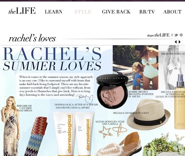 So honored to have my diamond star and X ring featured on Rachel Roy's Summer Love's this month ️@rachel_roy  #alexisjewelry