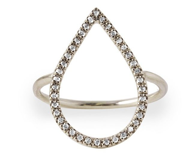 One of my favorites featured on @onekingslane in their Fine Jewelry boutique.  On sale through next Thurs!  #diamonds #dewdrop #14kgold #whitegold #rings #holidaygifts #alexisjewelry  #onekingslane