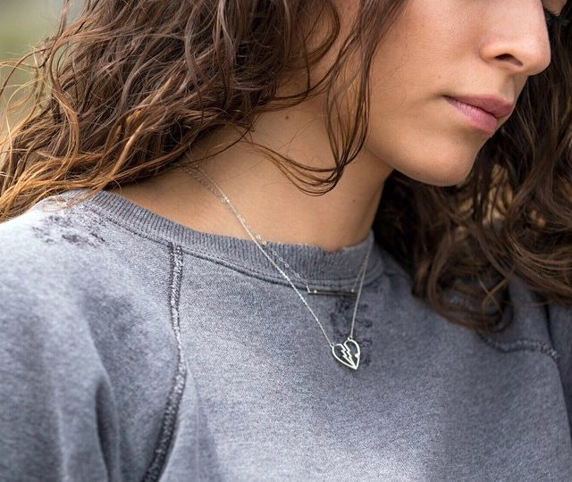 The #heart is a delicate thing  as are our #dainty #Jewelry