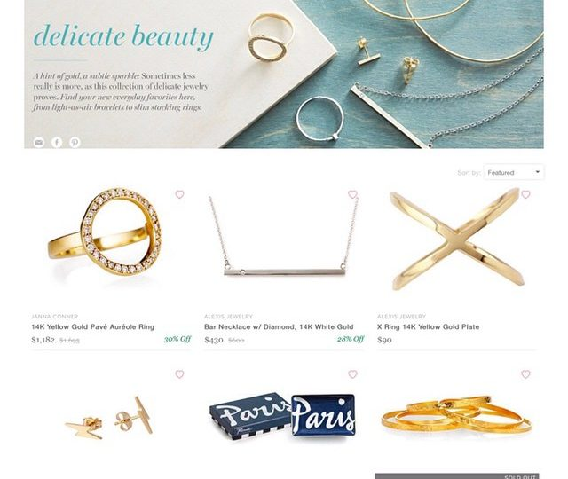 Freshen up your summer wardrobe with some of our new pieces    Now on sale @onekingslane #trendspotting #delicate #everyday #alexisjewelry
