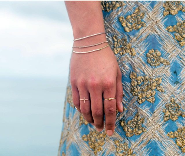 #Monday Blues & #Danity Jewels|| #AlexisJewelry #Layer #Jewelry #PyramidRing #StickRing #MadeinLA #Jewelry