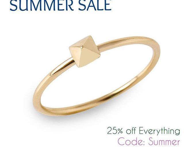 Summer Sale is On Earrings, Rings, Necklaces and More! #Summer #Sale #AlexisJewelry #MadeinLA #Danity #Jewelry #Gold #Rosegold #Diamonds #LADesigners