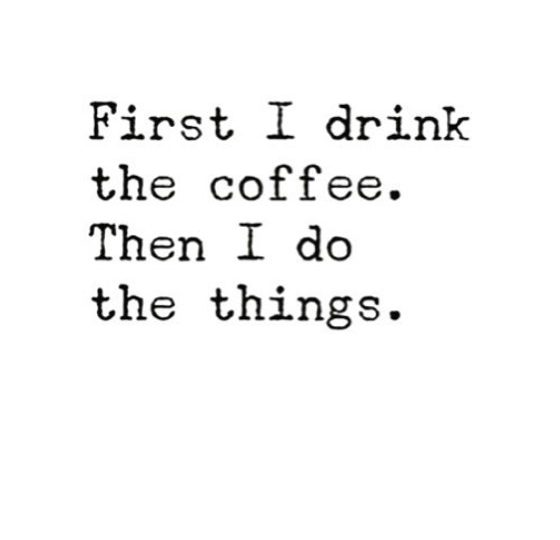 First the ️Then The Things || #GoodMorning #Humpday