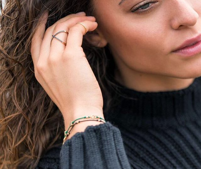 ️️In Deep Thought About #NYC Gathering My List for @axisshow ️️ #AlexisJewelry #axisshow #XRing #MidiRing #BlackDiamonds #YellowGold #Dainty #Bracelets #Jewelry #MadeinLA