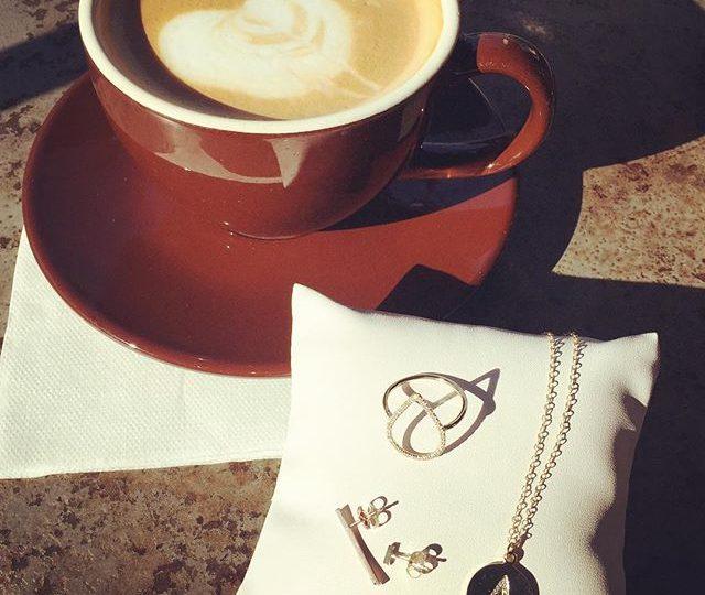 Morning Essentials | #monday #coffee #diamonds #morningessentials #franklinvillage #losangeles #butfirstcoffee