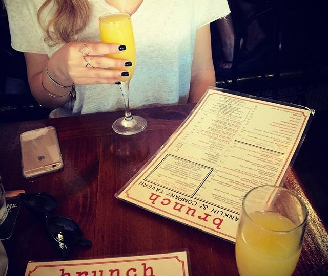 Ladies who brunch  #alexisjewelry #brunch #mimosa #sunday #weekend #franklinvillage