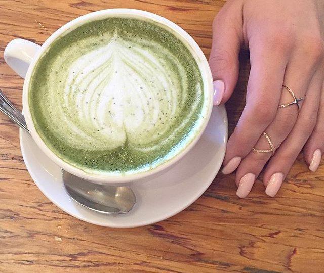 Green Latte from @kreationjuice #saturday #weekend #healthy #green #latte #kreation #beverlyhills #losangeles