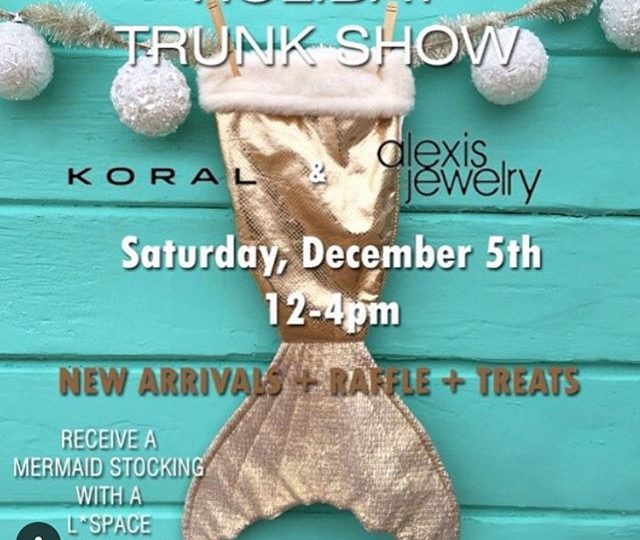 So excited to be teaming up with @thebeverlyhillsbikinishop and @koralactivewear for a holiday trunk show! Join us this Saturday, December 5th from 12-4pm for refreshments and a little holiday shopping! #alexisjewelry #thebeverlyhillsbikinishop #koralactivewear #losangeles #beverlyhills #holidayshopping #trunkshow #stockingstuffers #jewelry #finejewelry #bikinis #gifts #christmas #happyholidays #madeinla #supportsmallbusiness