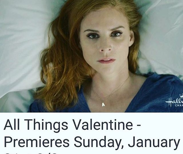 So proud of you @iamsarahgrafferty, catch this gorgeous soul in All Things Valentine, premiering on the Hallmark Channel Jan 31st!  Rocking some #alexisjewelry #allthingsvalentine #hallmark #hallmarkchannel #sarahrafferty #Acharm #jewelry #finejewelry #madeinla