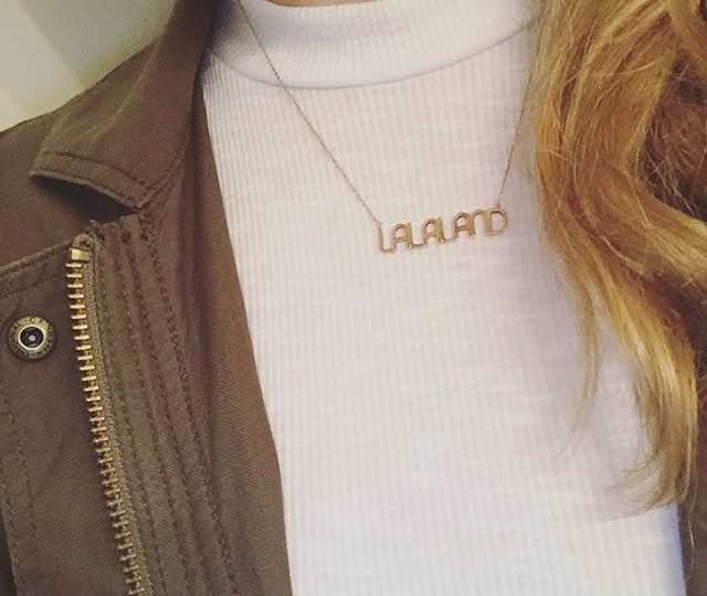 Today's look… Getting lost in Lalaland | #alexisjewelry #finejewelry #lalaland #ootd #jewelry #style #rosegold #necklace #madeinla #losangeles