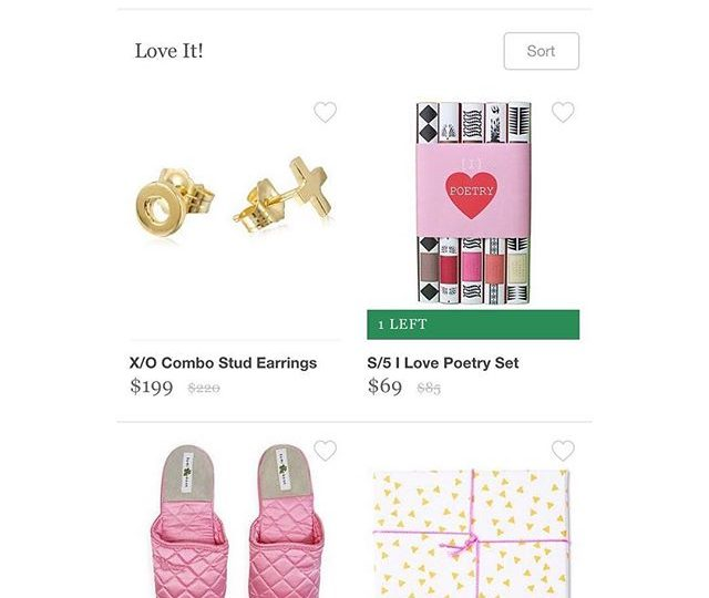 Featured on @onekingslane | Our X/O stud earrings are perfect for Valentine's Day! #alexisjewelry #finejewelry #earrings #gold #jewelry #westhollywood #madeinla #losangeles #valentinesday #giftgiving #someonespecial #love #hugsandkisses