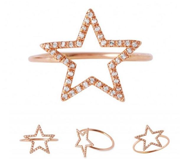 Star power ️ #alexisjewelry #finejewelry #star #ring #rosegold #diamonds #pave #pavediamonds #jewelry #style #starpower #humpday #eyecandy #madeinla #losangeles
