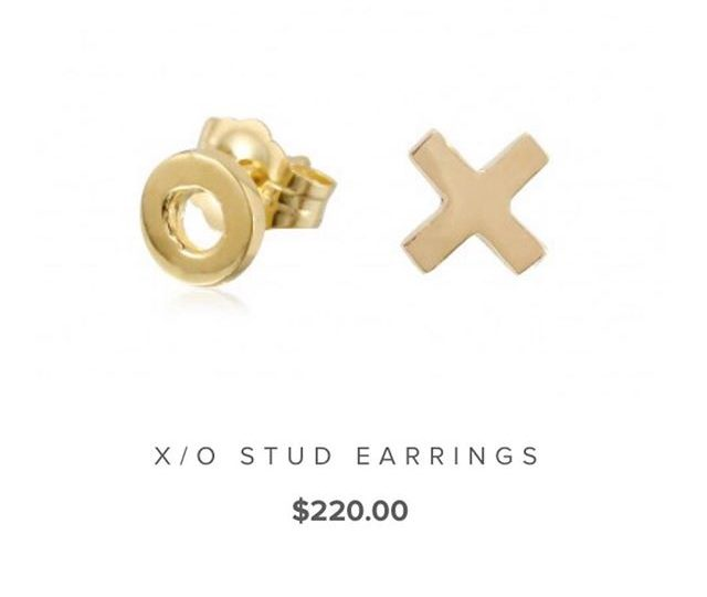 Looking for the perfect Valentine's Day gift? We've got you covered with our X/O stud earrings | Available at alexisjewelry.com | #alexisjewelry #finejewelry #valentinesday #gift #jewelry #earrings #xo #rosegold #yellowgold #whitegold #madeinla #losangeles #humpday