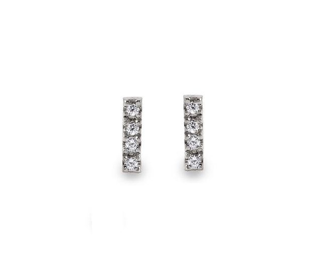 COMING SOON to alexisjewelry.com | Mini Diamond Stick Earrings for under $300 | #alexisjewelry #finejewelry #style #ootd #jewelry #diamonds #whitegold #yellowgold #rosegold #earrings #madeinla #losangeles #shop #ecommerce