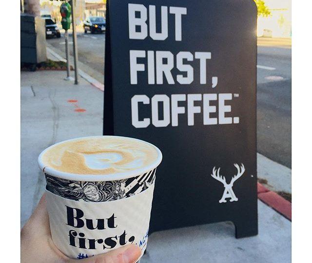 🏼 @alfredcoffee #silverlake #morningmeetings #coffee #caffeine #pickmeup #losangeles #alexisjewelry #madeinla #jewelry